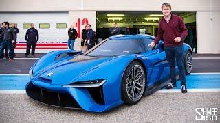 FIRST LOOK: NIO EP9 - NextEV's Electric Supercar