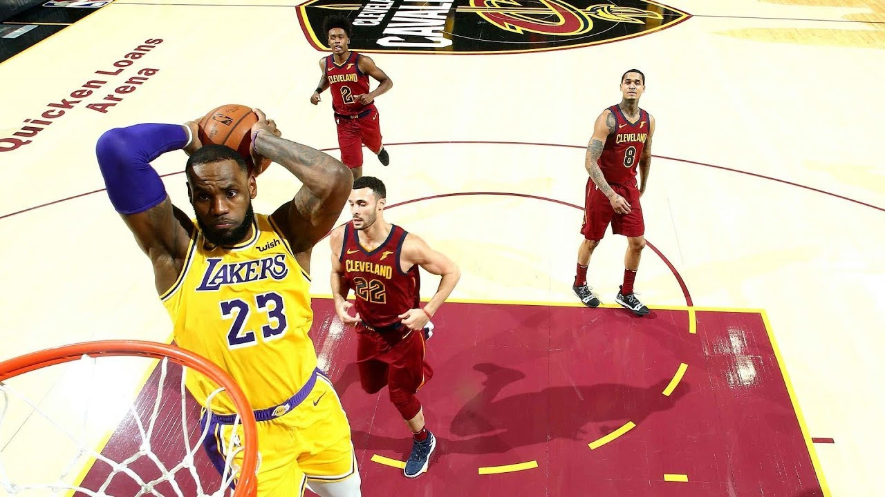 Lakers Vs Cleveland 2018 >> Nba Los Angeles Lakers Vs Cleveland Cavaliers Nov 21 2018
