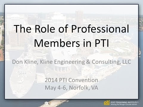 The Role of Professional Members in PTI