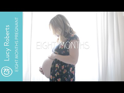 8 months pregnant | Lucy's pregnancy diary for Channel Mum