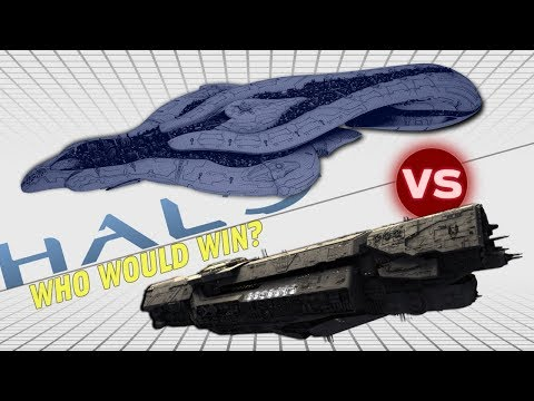 UNSC Infinity vs Covenant Supercarrier (CSO Supercarrier) | Halo: Who Would Win