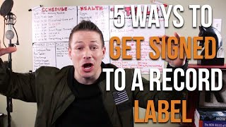 5 Eye-Opening Tricks On How To Get Signed To A Record Label