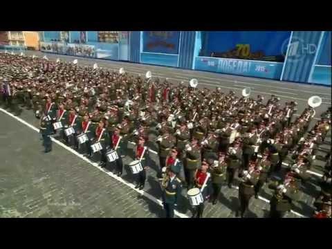 Военный оркестр - Марш-Парад 9 Мая- День Победы