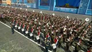 """Военный оркестр - """"Мы - армия народа"""" (Парад Победы на Красной площади 9 мая, Москва)"""
