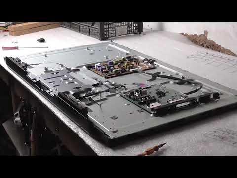 Lg42lm580T ,  установка матрицы вакуумным приспособлением, замена линейки подсветки