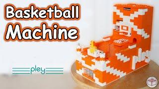 LEGO Basketball Machine