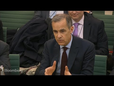 BOE's Carney Avoids Glass Half Empty Brexit Bank View