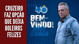 Com Abel para substituir Rogério Ceni, Cruzeiro aposta no estilo
