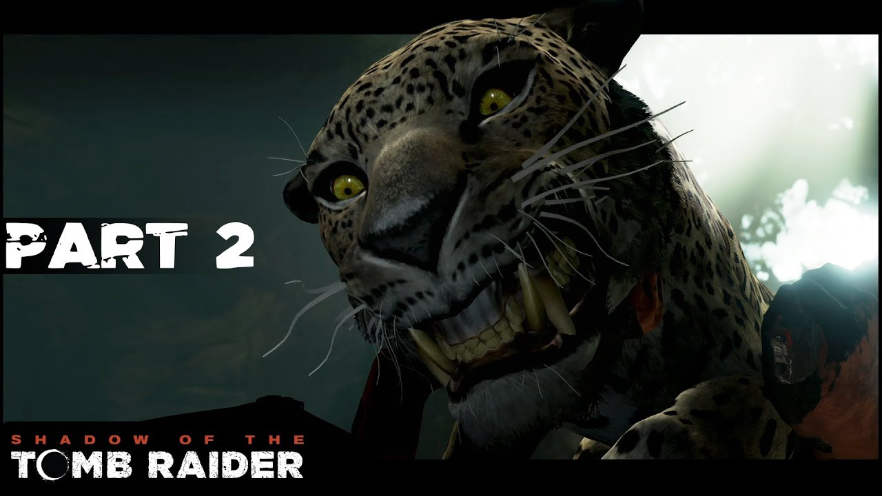 Jaguar Attack Part 2 Shadow Of The Tomb Raider Lets