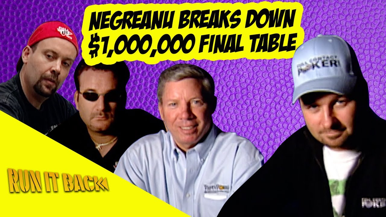 Run it Back with Daniel Negreanu | 2006 WSOP Tournament of Champions