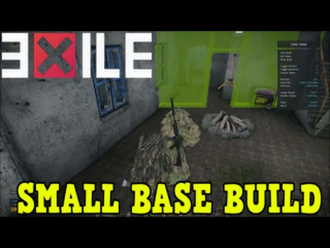 how to build base in exile