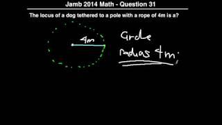 Q31 - JAMB Mathematics 2014 Past Questions and Solutions