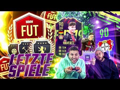 FIFA 19:Die LETZTEN WEEKEND LEAGUE SPIELE !! Mit Gullit RV zu ELITE ??