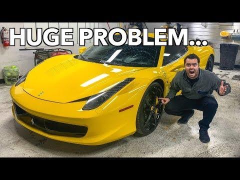 $15,000 PROBLEM WITH THE FERRARI!