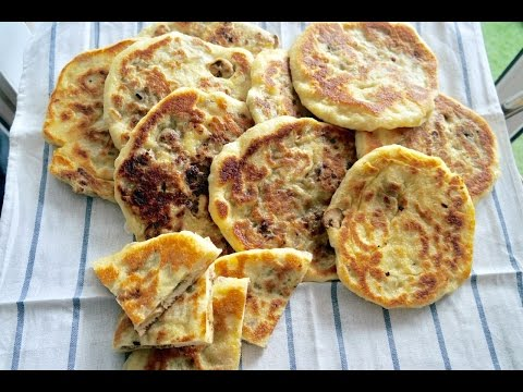 homemade-pan-bread-chiyar---stuffed-pan-bread