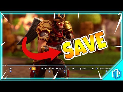 Fortnite Battle Royale - How To Save Replays (REPLAY SYSTEM)