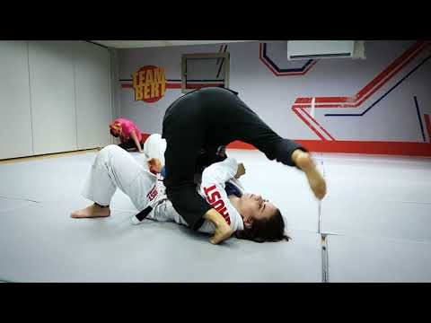 Bjj techniques: armbar submission from side control