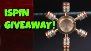 iSPIN GIVEAWAY!! FREE FIDGET SPINNERS!