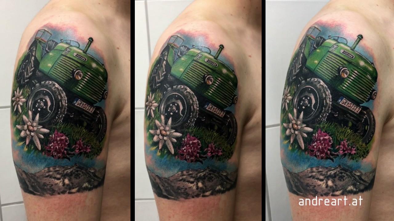 Traktor Tattoo - YouTube