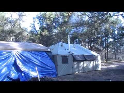 12x20 Cabela's Alaknak Tent, Opening Day