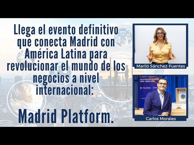 ¿Quieres conocer una plataforma de negocios que conecta Europa y América Latina?