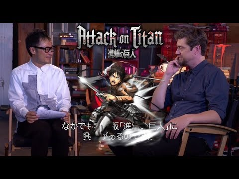 Attack On Titan   Live Action Movie Interview (Andy Muschietti)