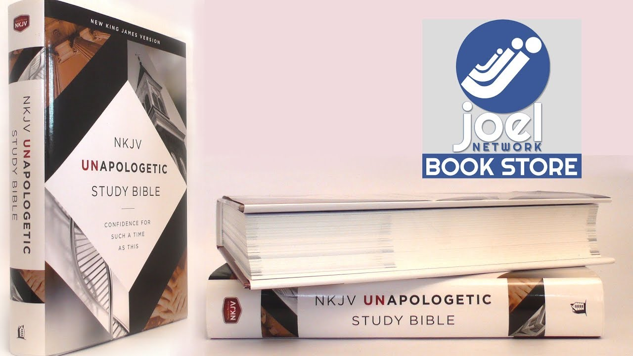 NKJV, Unapologetic Study Bible, Hardcover, Red Letter Edition  English, Hardcover, Emmanuel Foundati