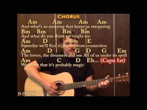 Rainbow Connection (Munson Version) Guitar Cover Lesson with Lyrics ...