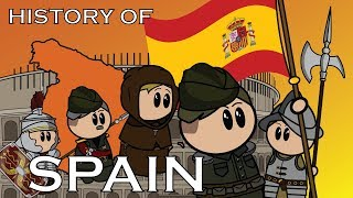 The Animated History of Spain Video