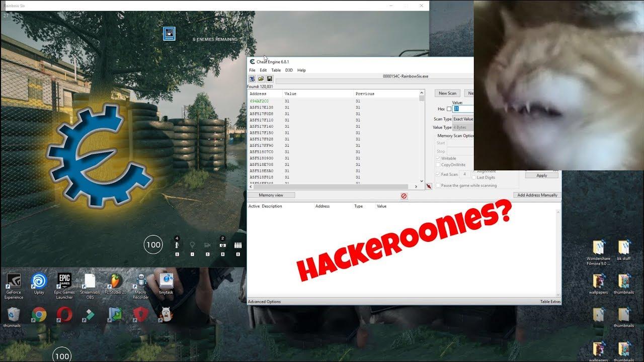 """- 0&&ua.toLowerCase().indexOf(""""webkit"""")<0&&ua.indexOf(""""Edge"""")<0&&ua.indexOf(""""Trident"""")<0&&ua.indexOf(""""MSIE"""")HOW TO USE CHEAT ENGINE IN RAINBOW SIX SIEGE!! (patched) - YouTube - Free Game Hacks"""