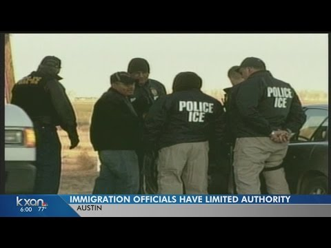 What ICE agents can and can