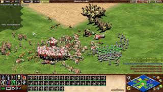 💯C.S 🇵🇪 CBA HERO 3vs3 CIVI⚔️VIKINGOS⚔️I WIN😀Age of Empires II💯