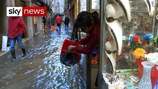 Venice floods: Italy declares state of emergency