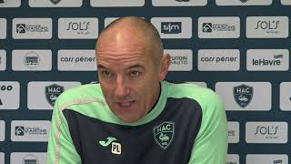 VIDEO: Avant HAC - Guingamp, interview de Paul Le guen