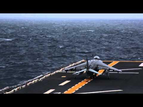 USS Bonhomme Richard AV-8B Harrier II