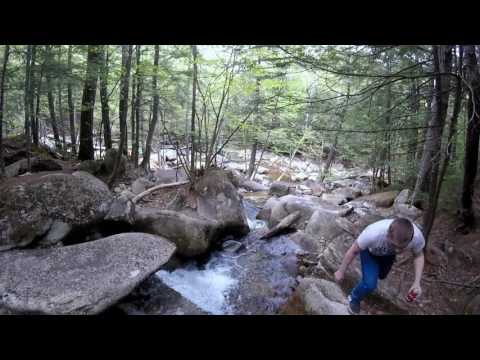 Waterfall North Conway New Hampshire