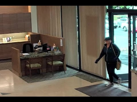 Territorial Savings Bank robbery surveillance footage
