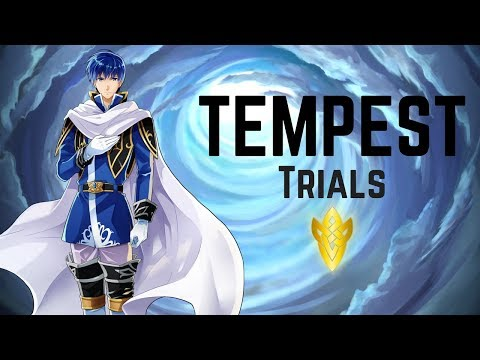 The First Run of Tempest Trials+ \(★ω★)/ | Thunder's Fist | Tempest Trials #35 【Fire Emblem Heroes】