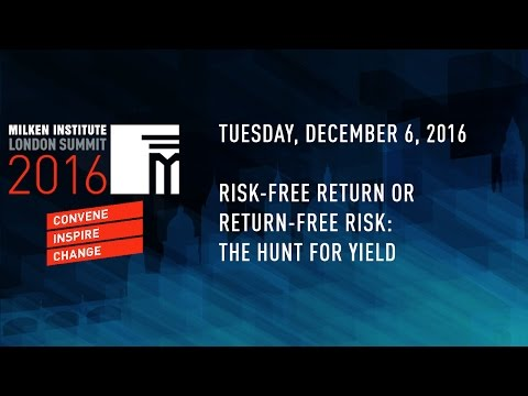 Risk-Free Return or Return-Free Risk: The Hunt for Yield