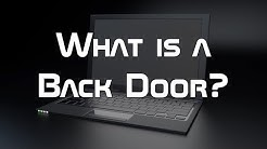 What is a Back Door?