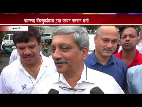 BY POLL ELECTIONS AT PANJIM AND VALPOI