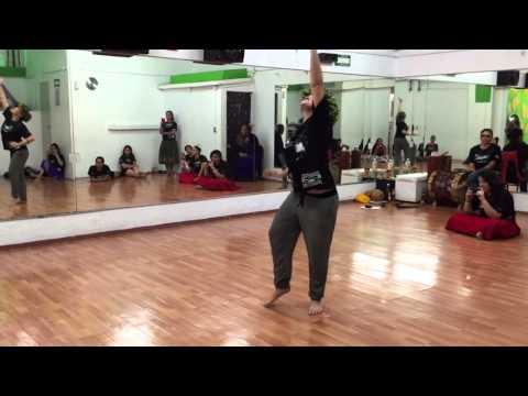 Mika Hirao Solem (Miss Aloha Hula 2010) - Workshop Hale TiKa - México 2015