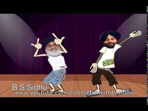 Sukhbir badal and parkash singh badal Dance