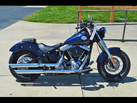 2013 Harley - Davidson Softail Slim FLS Big Blue Pearl 5817