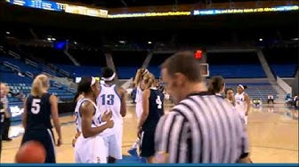 Savanna Trapp Exhibition Game Basket UCLA