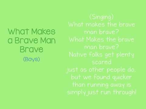 Mantua Drama Club - Audition Video - What Makes a Brave Man Brave - Boys