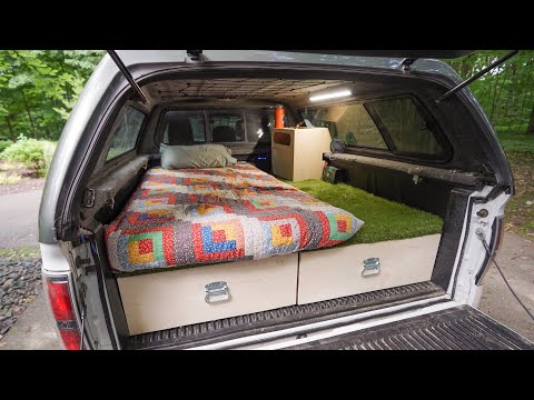 DIY Truck Bed Camper Build - Start To Finish