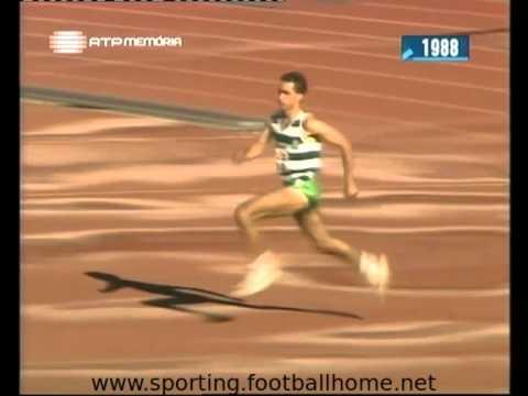 Atletismo :: Pedro Agostinho e Luis Marto em 1988/1989