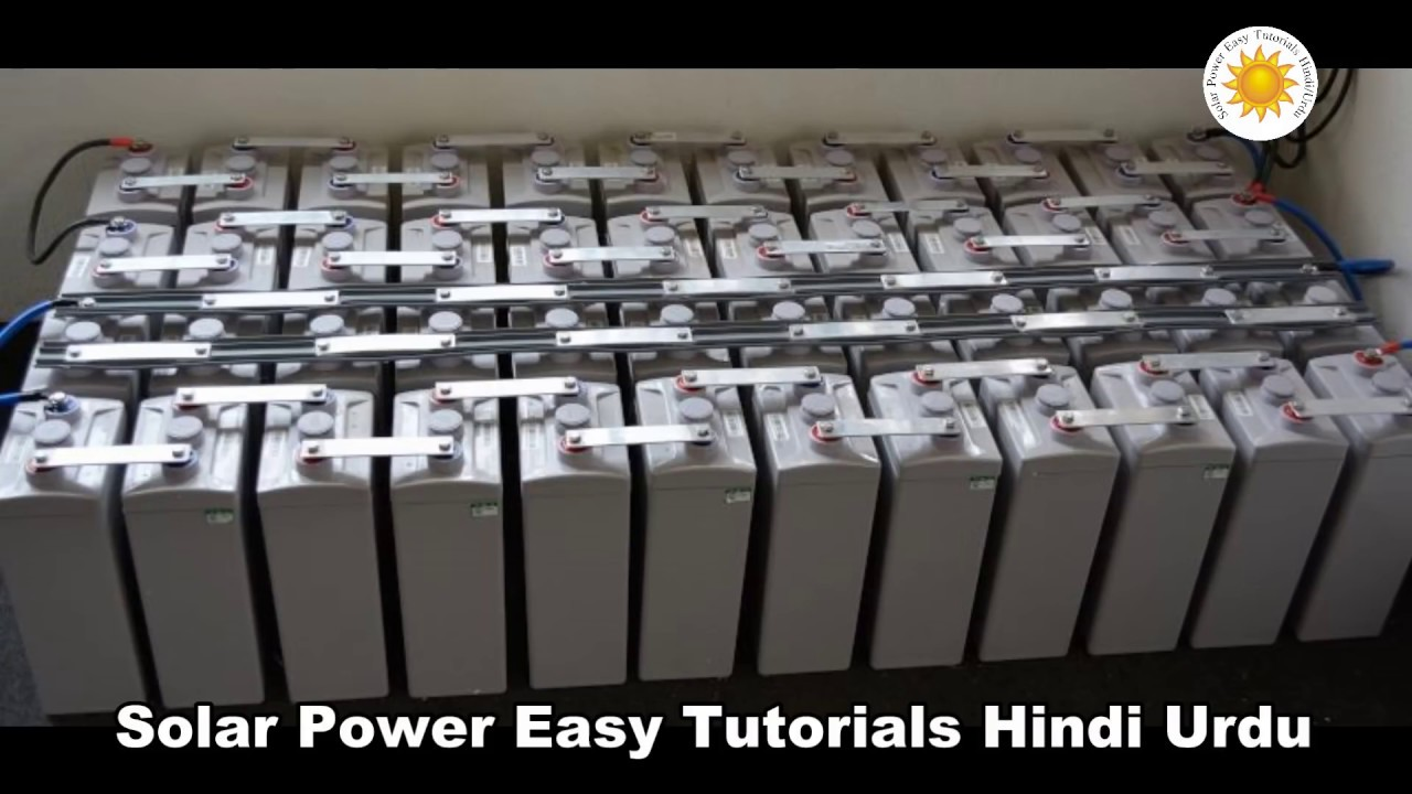 48 Volt Battery >> Best batteries for Solar System+Inverter+UPS+2 volt cells Price+2.4KW Solar System in Karachii ...