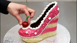 IF SHOES were CAKE...Amazing CAKES Compilation by CakesStepbyStep